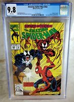 Amazing Spider-Man #362 2nd Carnage - Marvel 1992 CGC 9.8 NM/MT WP - Comic H0043