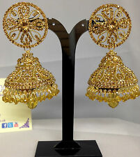Golden EarringsJhumka,Indian Fashion Jewellery, Bollywood Style JS5-01319