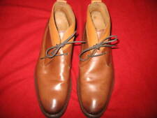 COLE HAAN, MEN'S  CUSTOM LACE-UP DRESS BOOTS, SIZE: 12, COLOR: TWO TONE TAN, NEW