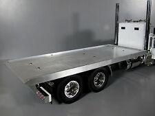 Custom made Aluminum Flat Bed Deck Section for Tamiya 1/14 RC King Grand Hauler