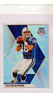 2020 Peyton Manning Silver Prizm Mosaic Card Colts HOF#90 Pack Fresh!