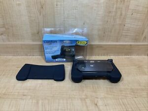 Black dreamGEAR comfort grip silicone case 3DS XL, OPEN BOX