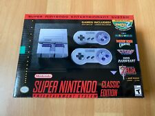 Super Nintendo Entertainment System SNES Classic Edition Brand New!
