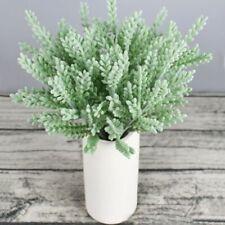 Novelty Artificial Fake Eucalyptus Bouquet Silk Flower Leaf Wedding Party Decor!