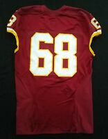 #68 of Washington Redskins NFL Game Issued & Player Worn No Nameplate Jersey