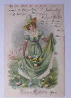 """Ostern, Frauen, Mode, Ostereier""  1900  ♥ (60309)"