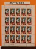 Scott # 2836- World Cup Soccer-USA 94 - Sheet of (20) 50 Cents Stamps