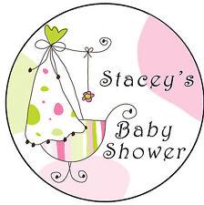 ✿ 24 Commestibili Carta di riso COPPA Torta TOPPINGS-Baby Shower Cristalle ✿