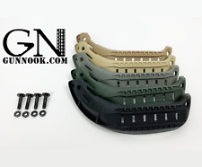GunNook Tactical MSA ARC Helmet Side Rails MICH 2000 2001 2002 ACH S-XL