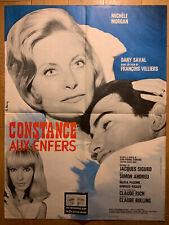 AFFICHE CINEMA film movie Constance aux enfers Jeanne MOREAU 60x80 cm
