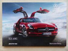 Mercedes-Benz SLS AMG - Prospekt Brochure 03.2010