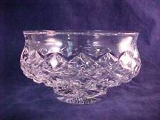 "Waterford Crystal Comeragh Ireland 5 1/2"" Footed Candy Bowl-Flared Rim"