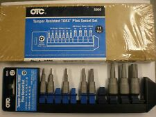 8 Piece Tamper-Resistant Torx Plus Socket Set OTC5905 Brand New!  EB0301