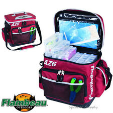 Flambeau Soft Tackle Box Bag System Top Load AZ6 w/ Containers Fishing 6107TB