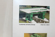 O Scale Plasticville Bachmann  Turnpike Exchange  #45601