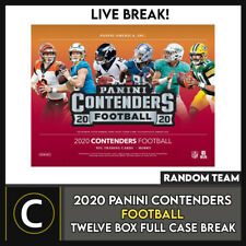 2020 PANINI CONTENDERS футбол 12 коробка (полный чехол) перерыв #F640 - случайных команд