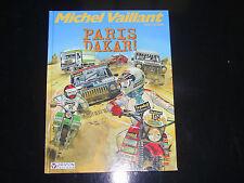 Michel vaillant  paris dakar  eo de 1982 éditions GRATON