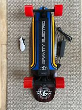 "Electric Skateboard board Gravity 29.5"" X 8.75"" Kick Tail Wood Deck  New In Box"