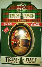 Coca Cola Christmas Ornaments Trim-A-Tree Tin Ornament - NIP