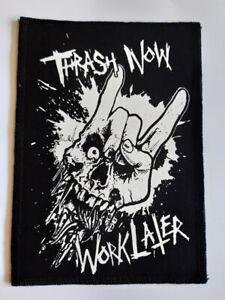 Thrash now patch,slayer,exodus,metallica,anthrax,kreator,destruction,tankard