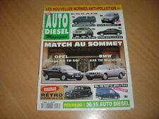 AUTO DIESEL N°18 Xantia 1.9 D SX.A6 2.5 TDi.BMW 525 TD