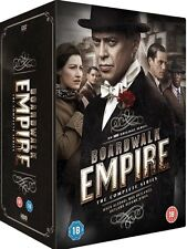 BOARDWALK EMPIRE COMPLETE SERIES 1 2 3 4 5 DVD BOX SET COLLECTION New Sealed UK
