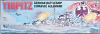 Lindberg Tirpitz German Battleship 1:350 WWII Model Kit  NEW Skill level 2