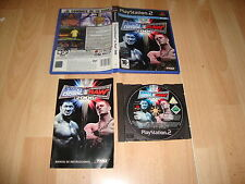 WWE SMACKDOWN VS. RAW 2006 DE THQ PARA SONY PS2 VERSION ORIGINAL USADO COMPLETO