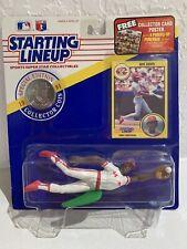 Eric Davis #44 Starting Lineup Sports Figure 1991 Cincinnati Reds MLB Figure