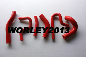 Red Silicone radiator heater hose for Suzuki Jimny 1.3 M13A 2000-2011