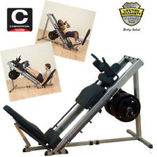 NEW 2019 Body Solid GLPH1100 Leg Press & Hack Squat - Machine - Calf - Bodysolid