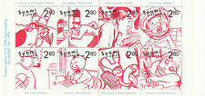FINLAND BOOKLET :1996 Centenary of Comic Strips complete SG SB51 MNH