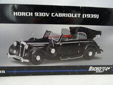 1:18 RICKO #32152 Horch 930V cabriolet noir RARE §
