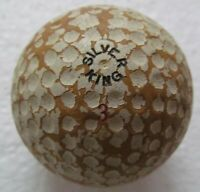 ORIGINAL VINTAGE SILVER KING DIMPLE GOLF BALL CIRCA 1940'S