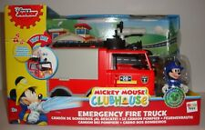 DISNEY MICKEY MOUSE CLUBHOUSE EMERGENCY FIRE TRUCK LIGHTS & SOUNDS PLAYSET NEW