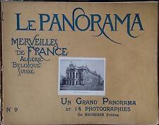 LE PANORAMA MERVEILLES DE FRANCE ALGERIE BELGIQUE SUISSE Lot des 25 premiers N°