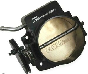 Holley Sniper EFI Throttle Body (860005-1) 102mm Black Billet Aluminum for LS