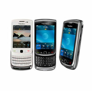 AT&T BlackBerry Torch 9800 Qwerty Keyboard  3G WIFI Slide Phone Touch Screen