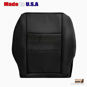 2008-2015 Mercedes Benz GLK 250 350 Driver Side Bottom Leather Seat Cover Black