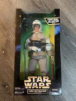 1997 Star Wars Action Figure Luke Skywalker Hoth Gear Firing Rebel Blaster New