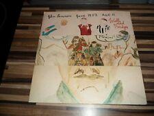 John Lennon Walls And Bridges - 1st - Complete UK vinyl LP album record NICE