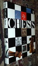 The World of Chess,Saidy,Lessing,VG/VG,HB,1974,First    U
