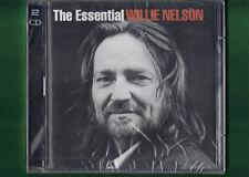 WILLIE NELSON - THE ESSENTIAL DOPPIO CD NUOVO SIGILLATO