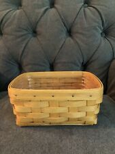 New Listing2001 Longaberger Business Card Basket with Protector. Excellent Condition.