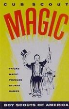 Cub Scout Magic : by Boy Scouts of America Staff : 1960 HARDCOVER