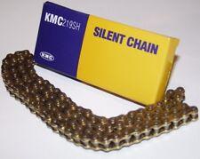KMC Kartkette Silent Chain, 219er GOLD/GOLD, 102 Glieder