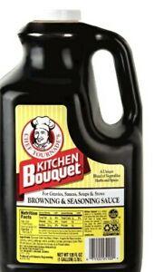 Kitchen Bouquet Browning & Seasoning Sauce, 128 oz bottle
