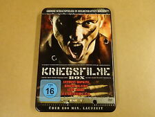3-DISC METAL CASE DVD / KRIEGSFILME BOX ( ANTHONY HOPKINS, ROBERT DE NIRO... )