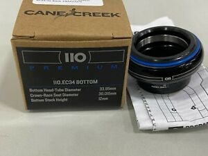 Cane Creek 110 Series Premium Headset Bottom Hellbender EC34/30 Black #BAA0337K
