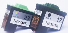 LEXMARK 17+27 Druckerpatronen X1185 X1190 X1250 X1270,X1290,X2230,X2250 X1180